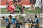 Os conceitos da preparação física para maratona de jogos da dupla Gre-Nal Montagem sobre fotos/Agência RBS