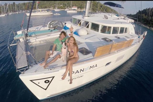 Conheça o casal que largou tudo para viajar pelo mundo a bordo de um catamarã Sail Ipanema/Arquivo Pessoal