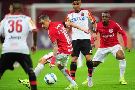 CBF altera horário de jogo entre Flamengo e Inter pela 31ª rodada (Diego Vara/Agencia RBS)