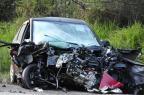 Acidente entre carro e caminhões deixa duas mulheres mortas e uma gravemente ferida em Butiá Ronaldo Bernardi/Agencia RBS