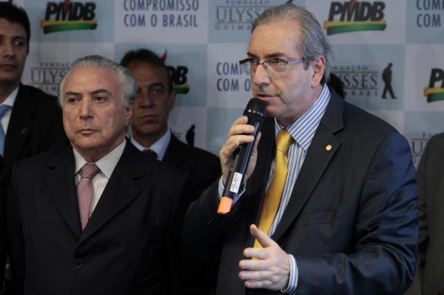 Da cadeia, Cunha diz que Temer convocou reunião que teria discutido propina de US$ 40 milhões PMDB Nacional/Flickr/Divulgação