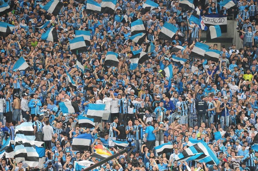 Grêmio promove ação de solidariedade por vítimas de enchente Lauro Alves/Agencia RBS
