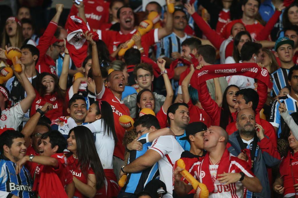 Gre-Nal da Arena terá torcida mista e mutirão para evitar quebra de cadeiras Diego Vara/Agencia RBS