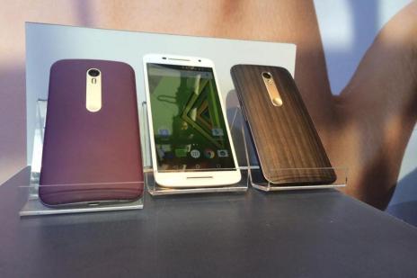 Novo Moto G à prova d'água e mais dois novos modelos são apresentados pela Motorola (Gustavo Foster/Agência RBS)