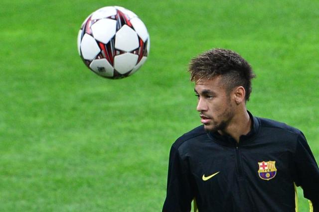 Neymar sofre com caxumba e desfalca o Barcelona por 15 dias GIUSEPPE CACACE/AFP