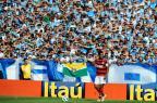 Falha de Victor, ira e êxtase no Olímpico: relembre os jogos de Ronaldinho contra o Grêmio Valdir Friolin/Agencia RBS