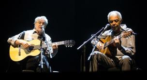 Como foi o show de Caetano Veloso e Gilberto Gil em Israel Jack Guez/Montagem/AFP
