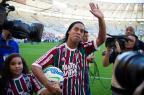 """Diogo Olivier: Grêmio topará com """"efeito Ronaldinho"""" no Maracanã Bruno Haddad/Fluminense/Divulgação"""