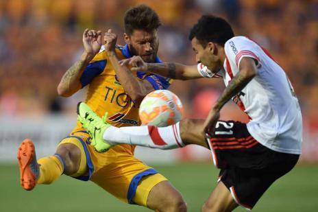 """Sobis ainda confia no Tigres: """"Muitas vezes é melhor jogar fora"""" (YURI CORTEZ / AFP/)"""