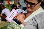 Hora do mamaço incentiva aleitamento materno em Porto Alegre Júlio Cordeiro/Agencia RBS