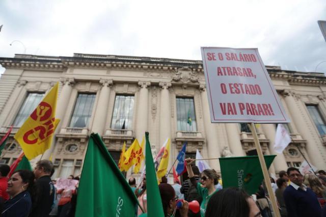 Governo estadual encaminha proposta de reajuste do salário mínimo Ricardo Duarte/Agencia RBS