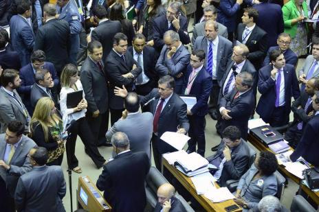 Após fim do recesso, Câmara impõe derrota a Dilma  (Nilson Bastian/Câmara dos Deputados/Divulgação)