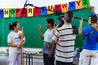 Rede Globo grava no RS quadro sobre iniciativas criativas em educação Omar Freitas/Agencia RBS