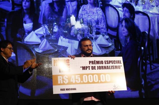 Jornalistas de ZH vencem Prêmio MPT de Jornalismo MPT/Divulgação/