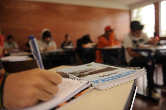 Ensino Médio fica estagnado no país e rede particular tem seu pior resultado Claudio Vaz/Agencia RBS