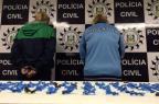 Denarc apreende 250 pedras de crack na área central de Porto Alegre Divulgação/Polícia Civil