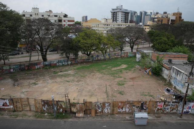 Prefeitura desiste de projeto e terreno do Terreira da Tribo volta a ser ocupado na Cidade Baixa Diego Vara/Agencia RBS
