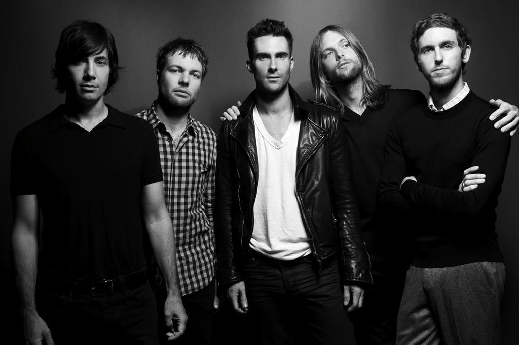 Começa nesta segunda-feira a venda de ingressos para o show do Maroon 5 divulgação/Divulgação