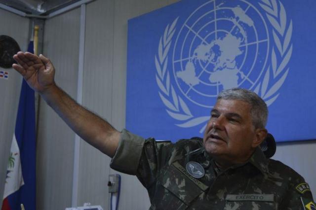 Morre general comandante da Força de Paz no Haiti Marcello Casal Jr/Arquivo Agência Brasil
