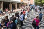 Filas marcam primeiro dia de vendas de ingressos para show do Maroon 5 nas lojas e na internet Omar Freitas/Agencia RBS