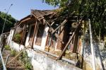 Casa A Electrica em escombros