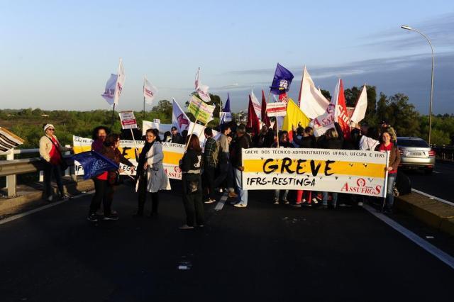 Protestos na Assembleia vão marcar o quarto dia da greve dos servidores Ronaldo Bernardi/Agencia RBS