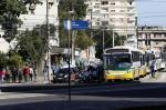 Trânsito no viaduto da Silva Só é liberado depois de ameaça de bomba