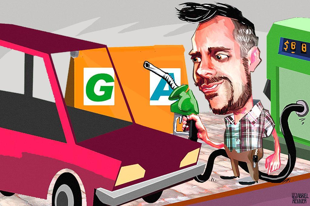 Saiba o que é mais vantajoso na hora de abastecer: etanol ou gasolina Arte ZH/