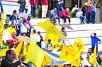 Gisele Loeblein: em meio a protestos contra o governador, agronegócio também faz suas reivindicações (Caco Konzen/Especial)