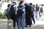 Milhares de refugiados chegaram à Alemanha no fim de semana