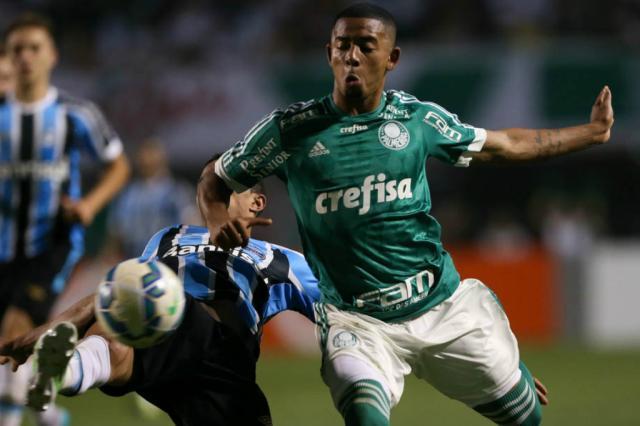 Em boa fase, Palmeiras é adversário complicado para o Grêmio Cesar Greco/Fotoarena/Divulgação