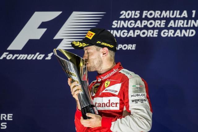 Sebastian Vettel vence GP de Cingapura Philippe Lopez/AFP