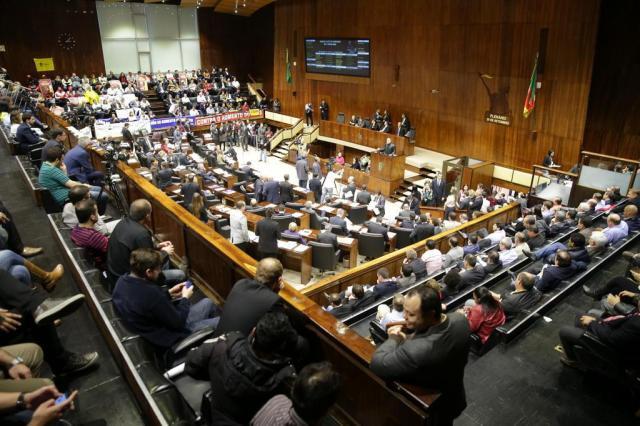AO VIVO: acompanhe a votação do aumento de ICMS Fernando Gomes/Agencia RBS