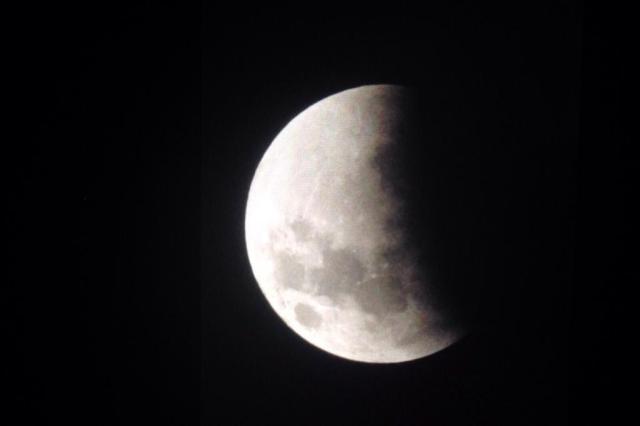 Eclipse da Lua pode ser visto nesta sexta-feira em todo o Brasil Luis Iarchesky/Arquivo Pessoal