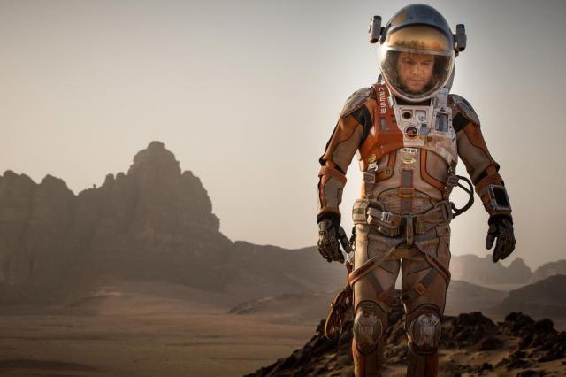 """""""Perdido em Marte"""" estreia nos cinemas em meio à descoberta de água no Planeta Vermelho Fox/Divulgação"""