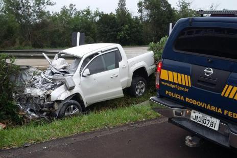 Homem morre em acidente na freeway (PRF/Divulgação)