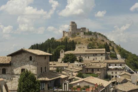 """Assis, na Itália, recebe visitantes não católicos à procura da """"essência mística"""" do lugar Andrea Wyner/NYTNS"""
