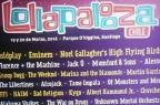 Cartaz com suposto line-up do Lollapalooza circula na internet Facebook/Reprodução