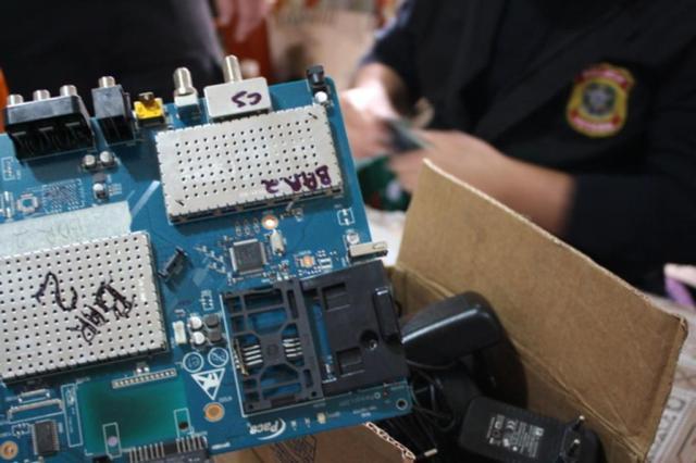 PF descobre operadora pirata de TV por assinatura com clientes em 16 Estados Polícia Federal/Divulgação