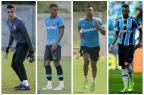 De olho no Santos, Grêmio já tem plano para retorno de quarteto das seleções Montagem sobre fotos de banco de dados/Agência RBS