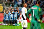 Ajoelhados e apontando para o céu: como nasceu a comemoração que virou febre Lauro Alves/Agencia RBS