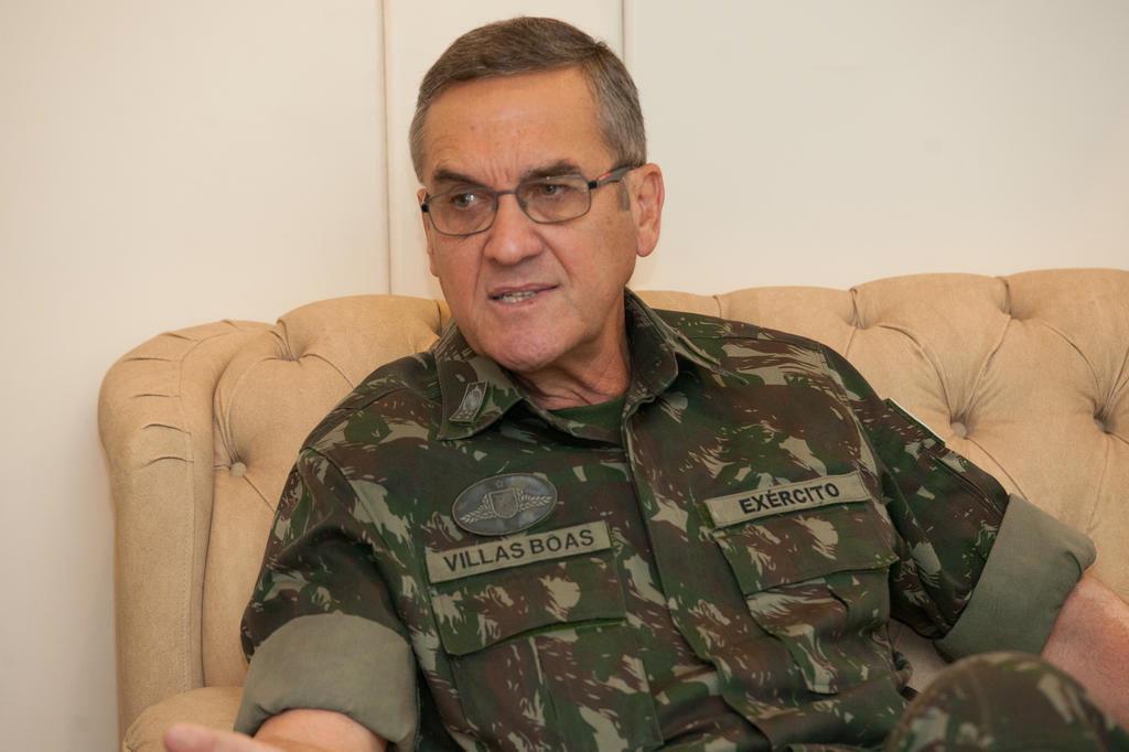 """Eduardo Dias da Costa Villas Bôas: """"Não há possibilidade de intervenção militar"""" Exército brasileiro/Divulgação"""