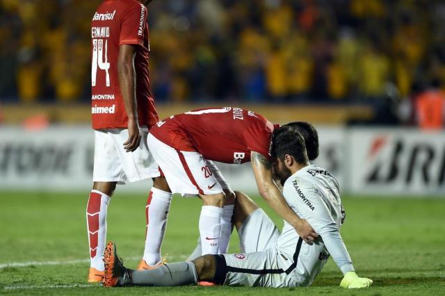 Do céu ao inferno: eliminação do Inter para o Tigres completará dois ano neste sábado ALFREDO ESTRELLA/AFP