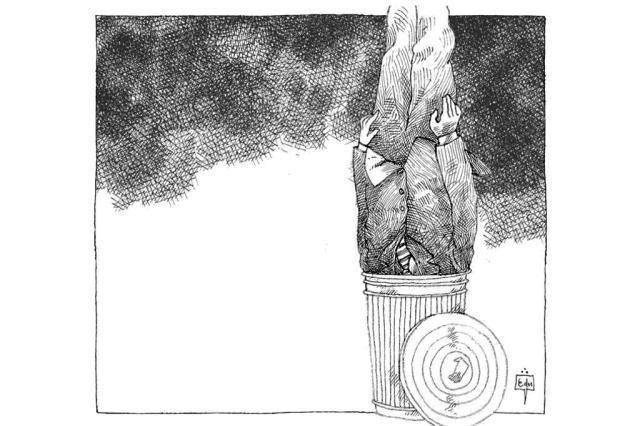 A rejeição aos políticos Edu Oliveira/Arte ZH