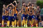 Sportivo Luqueño vence e elimina Atlético-PR na Sul-Americana Norberto Duarte/AFP