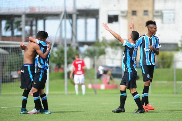 Grêmio vence o Inter por 3 a 2 e conquista o Gauchão Sub-17 Félix Zucco/Agência RBS