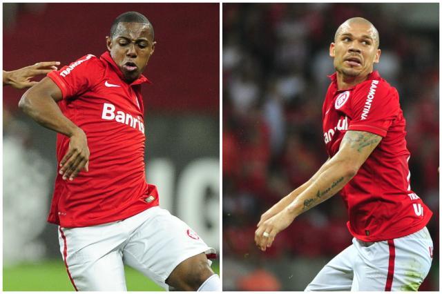 CBF suspende Wellington Martins e Nilton por doping Montagem sobre fotos de Agência RBS/