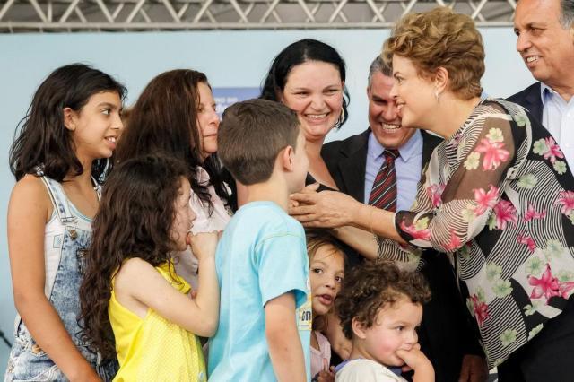 Em ano eleitoral, tesourada no Bolsa Família preocupa Dilma e PT Roberto Stuckert Filho/Presidência da República,Divulgação