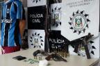Arsenal é apreendido no Bairro Canudos Divulgação/Polícia Civil