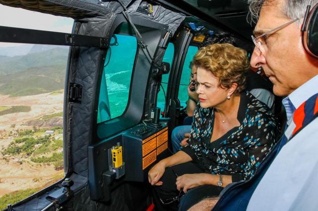 Ibama vai aplicar multa de R$ 250 milhões à Samarco Mineradora Roberto Stuckert Filho/Palácio do Planalto
